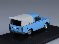 Trabant 1.1 Pick-Up Closed light blue 1990 IST179A IST Models 1:43