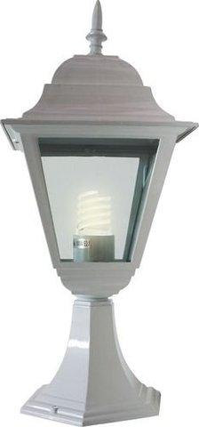 Светильник садово-парковый, 100W 230V E27 белый, 4204 (Feron)