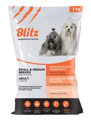 BLITZ adult dog small & medium breeds