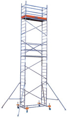 PROTEC Передвижные подмости. рабочая высота 6,3 м