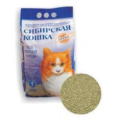 Наполнитель для кошек, Сибирская Кошка, комкующийся Прима 5л