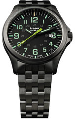 Наручные часы Traser P67 OFFICER PRO Gunmetal Black/Lime 107869 (сталь)