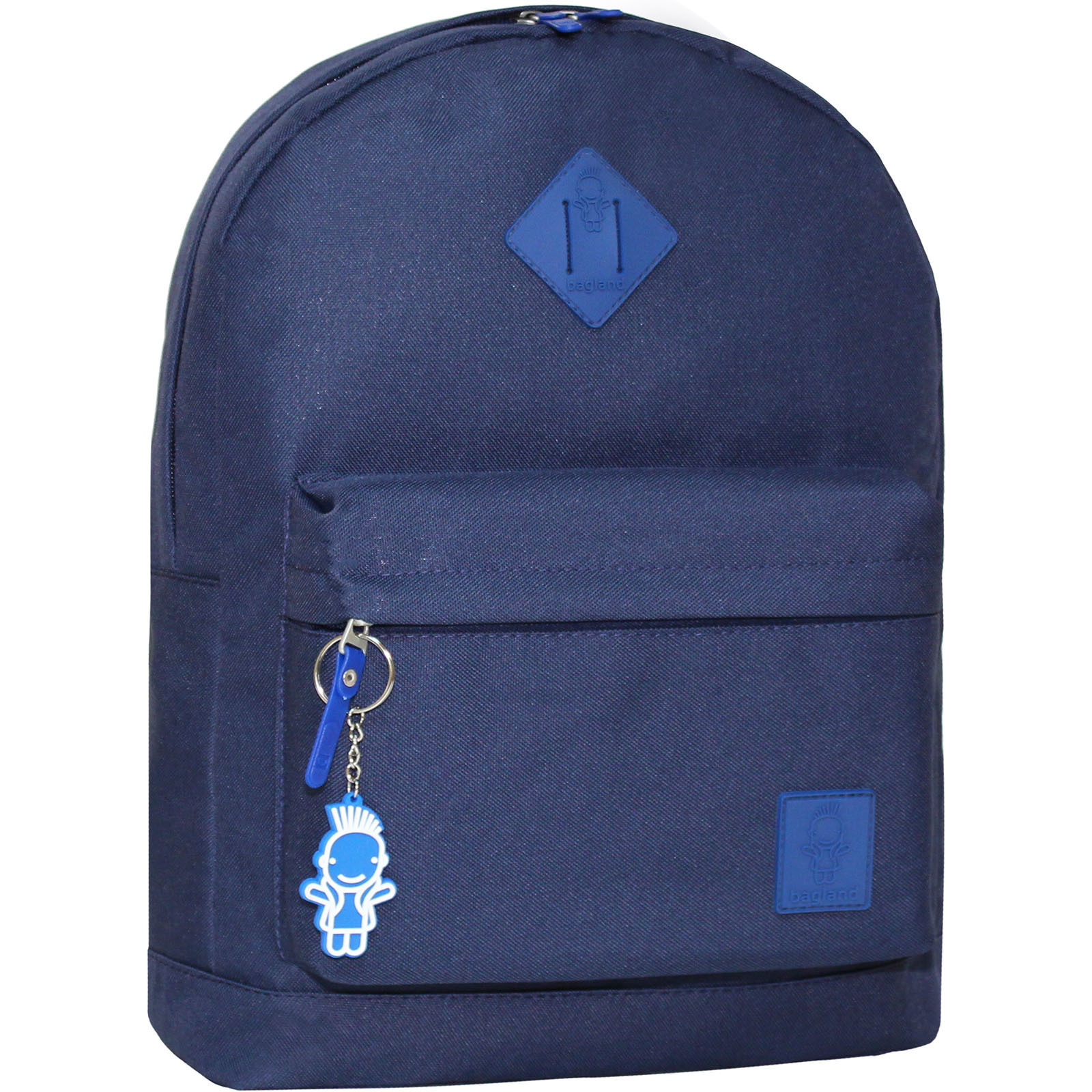 Городские рюкзаки Рюкзак Bagland Молодежный W/R 17 л. Синий (00533662) IMG_5055.JPG