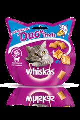 Whiskas Duo Treats 40 г лакомство с лососем и сыром