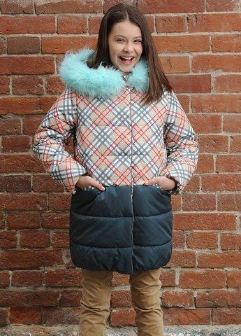 Pelican GZFL3079 Пальто для девочек бежевое