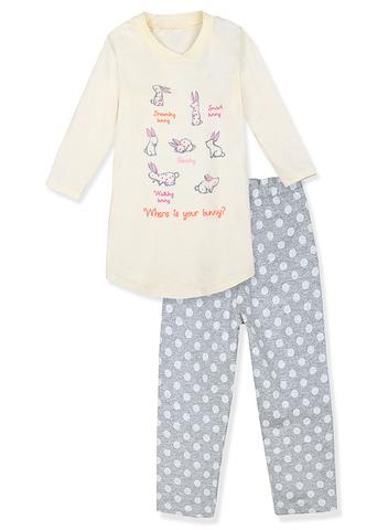 GKD08-068п комплект детский, молочный/меланж