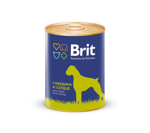 Brit Beef & Heart for dog