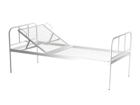 Кровать общебольничная с регулируемым подголовником МСК - 136 - фото