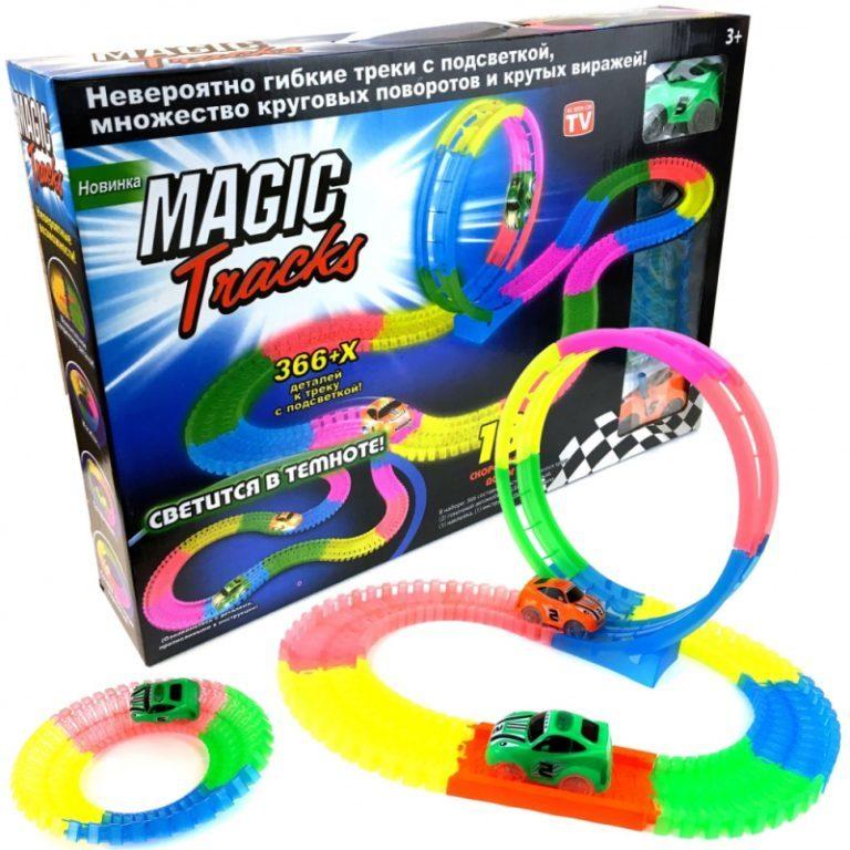 Игрушки для детей Конструктор Magic Tracks (366 деталей) konstruktor-366a.jpg
