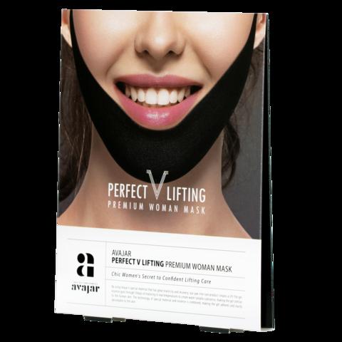AVAJAR | Женская лифтинговая маска (черная)
