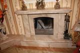 Каминный портал из натурального мрамора Арт 47
