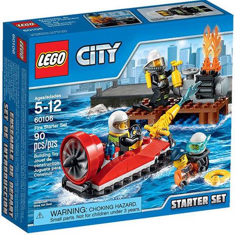 LEGO City: Набор «Пожарная охрана» для начинающих 60106
