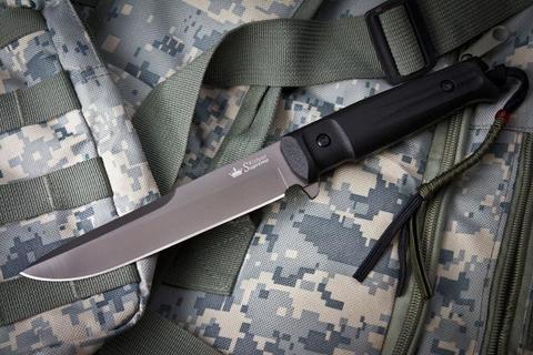 Тактический нож Alpha D2 Gray Titanium