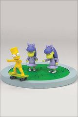 The Simpsons Movie - Bart, Sherri & Terri