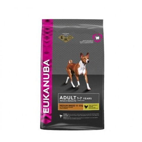 EUKANUBA ADULT MEDIUM BREED (CHICKEN) 19 кг