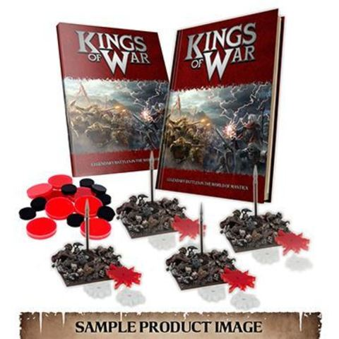 Kings of War Deluxe Gamer's Edition