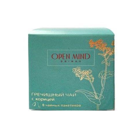 Open Mind, Гречишный чай с корицей МИНИ, 48г (8пакетиков)