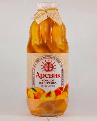 Компот Аревик из персика, 1л