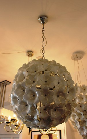 replica  Flower Chandelier