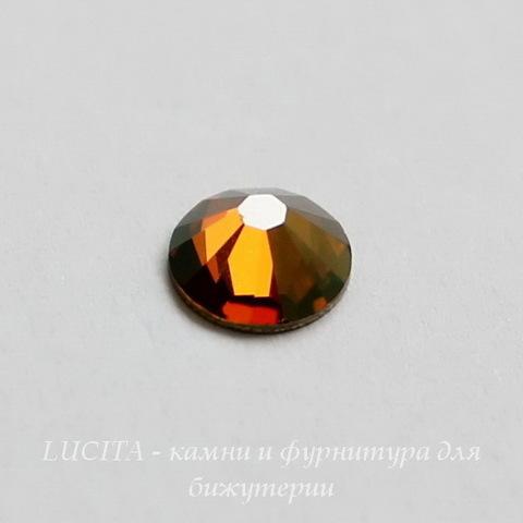 2028/2058 Стразы Сваровски холодной фиксации Crystal Copper ss30 (6,32-6,5 мм)