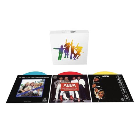ABBA / The Album - The Singles (Coloured Vinyl)(3x7