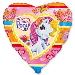 Шар Сердце Моя маленькая пони