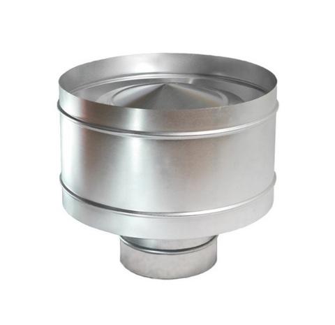 Дефлектор крышный D 355 мм оцинкованная сталь
