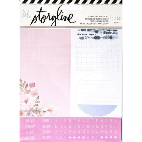 Стикеры для планирования - Heidi Swapp Storyline2 Journaling Stickers 1120шт- Girl