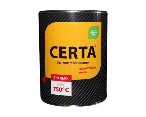 CERTA/ЦЕРТА Термостойкая эмаль 0,8 кг
