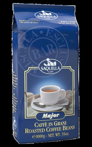 Кофе в зернах Saquella Espresso Major 1 кг