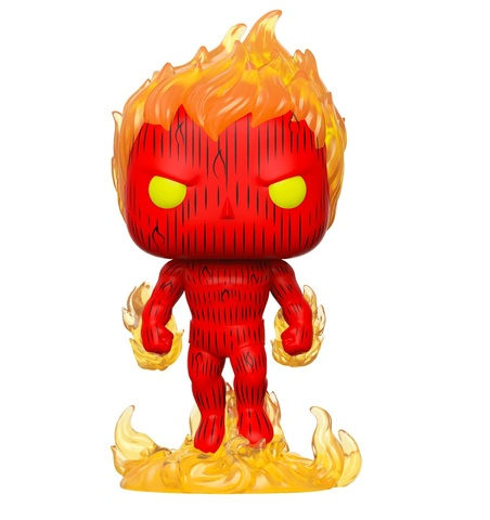 Фигурка Funko POP! Bobble: Marvel: Fantastic Four: Human Torch 44987