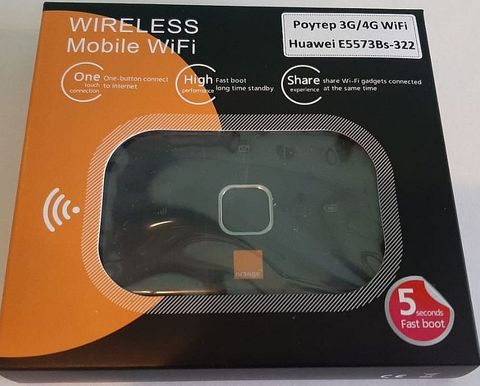 Huawei E5573s Orange Мобильный WiFi роутер (Универсальный)