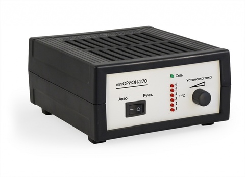 Зарядное устройство НПП ОРИОН-270 (12В, 7A)