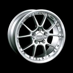 Диск колесный BBS RK II 10x18 5x120 ET25 CB82.0 brilliant silver