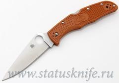 Нож Spyderco Endura 4 HAP40 C10FPBORE Sprint Run оранжевый