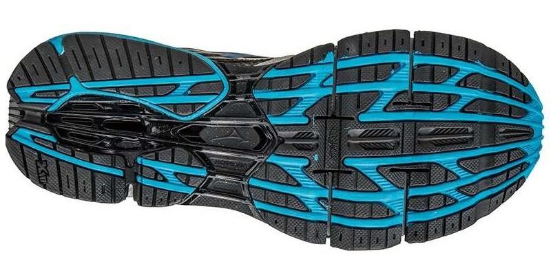 Мужские кроссовки для бега Mizuno Wave Prophecy 5 (J1GC1600 23) серые фото