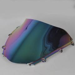 Ветровое стекло для мотоцикла Honda CBR1000RR 04-07  DoubleBubble Иридий