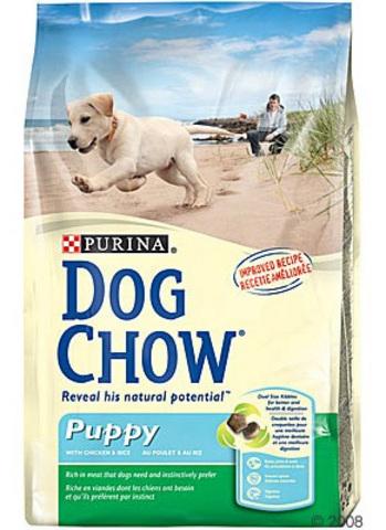 Dog Chow Для щенков (puppy-junior) 14 кг (курица, ягненок)