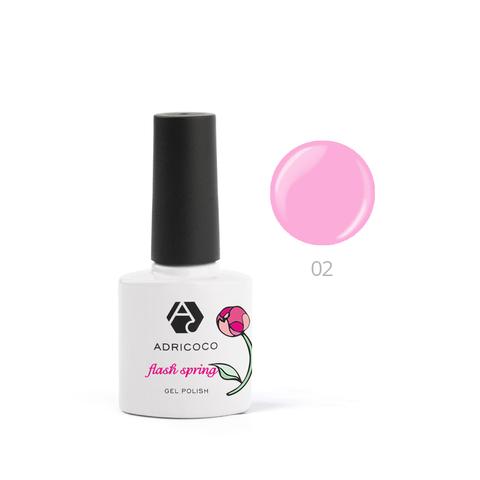 Гель-лак ADRICOCO Flash Spring №02 Розовая магнолия (8 мл.)
