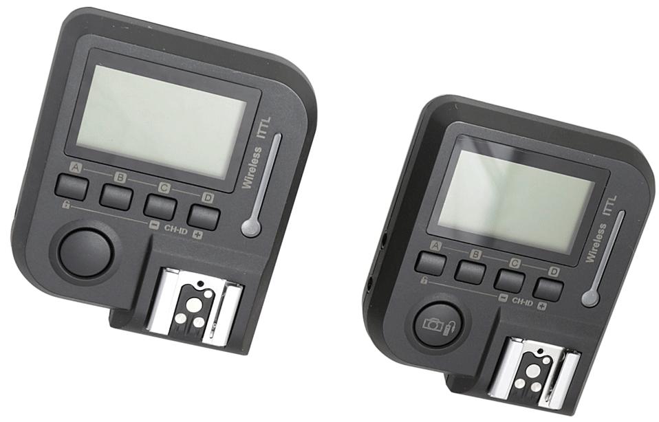 FUJIMI NK1 TTL Радиосинхронизатор вспышек с функцией TTL для Nikon (2.4 Ггц) приёмник и передатчик