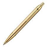 Шариковая ручка Parker IM Metal K223 Brushed Metal Gold GT Mblue (R0736980)