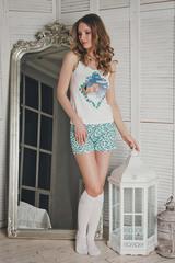 Красивая пижама женская с совой