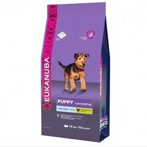 EUKANUBA PUPPY LARGE BREED (CHICKEN) 18 кг