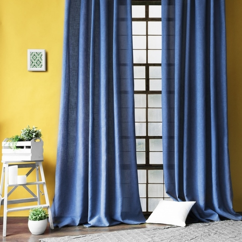 Комплект штор Фрида синий