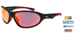 Солнцезащитные очки goggle EGZO black/red