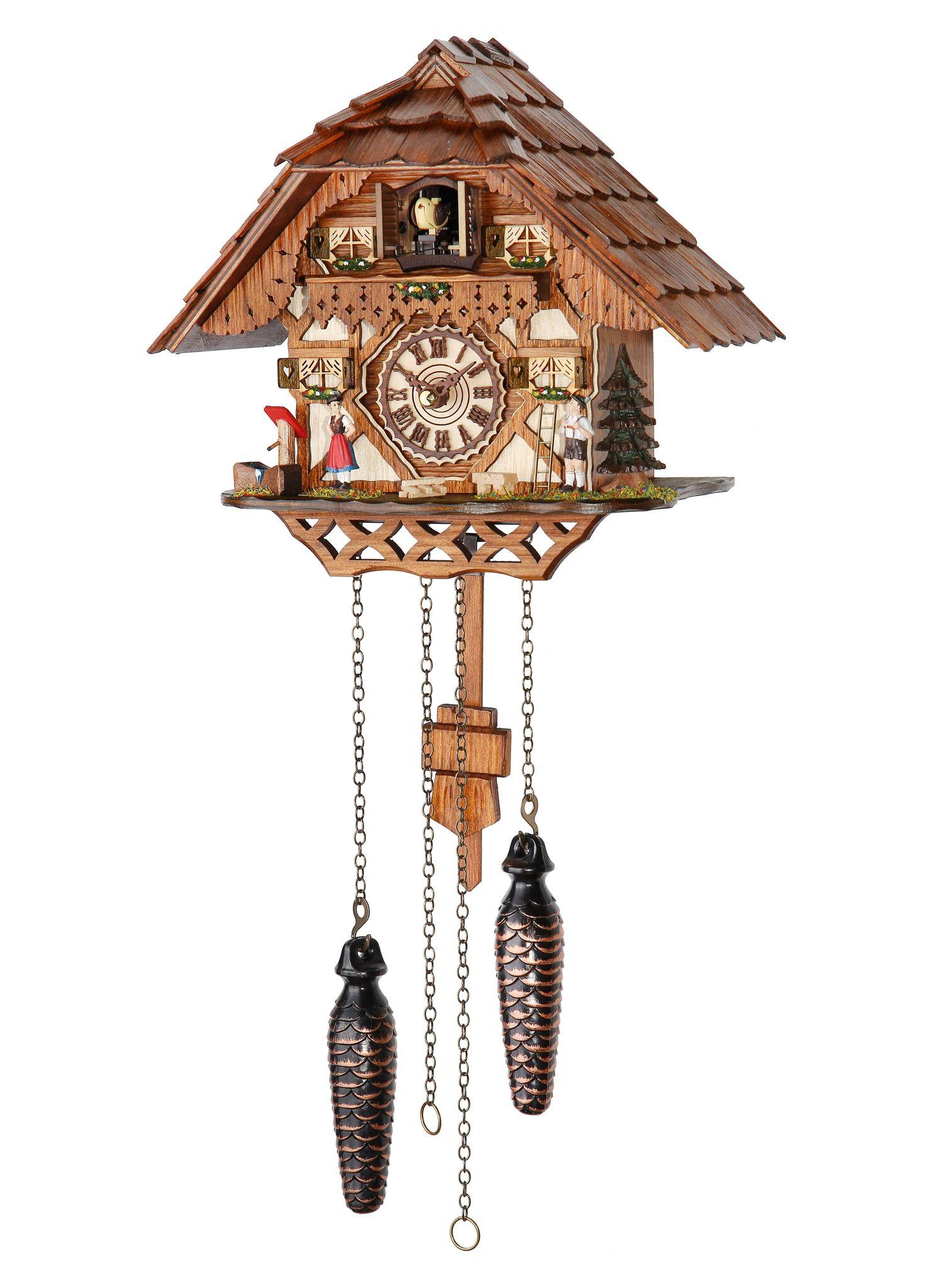 Часы настенные Часы настенные с кукушкой Trenkle 4227 QM chasy-nastennye-s-kukushkoy-trenkle-4227-qm-germaniya.jpg