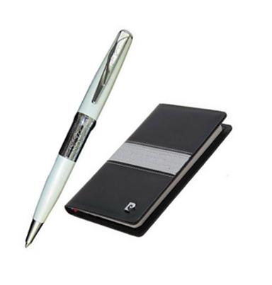 Набор записная книжка и шариковая ручка PC701