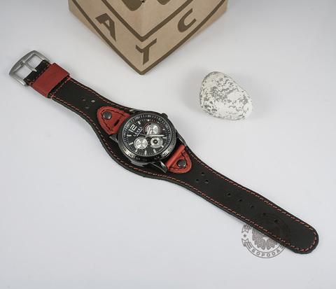 WLS129 Стильный ремешок для часов с классической застежкой