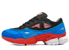 Кроссовки Женские Adidas X Raf Simons OZWEEGO 2 Blue / Black / Red