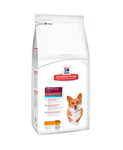 Hill's сухой корм для собак мелких пород (курица) 2,5кг